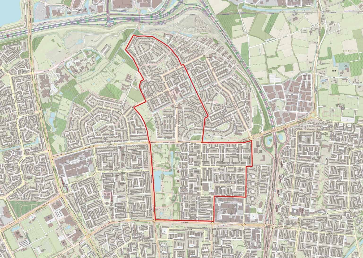 Kerngebied Eindhoven